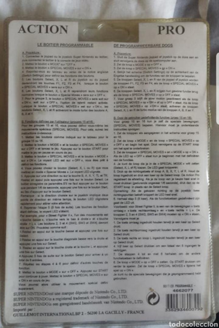Videojuegos y Consolas: Super Nintendo Programador de combos SNES - Foto 2 - 217487773