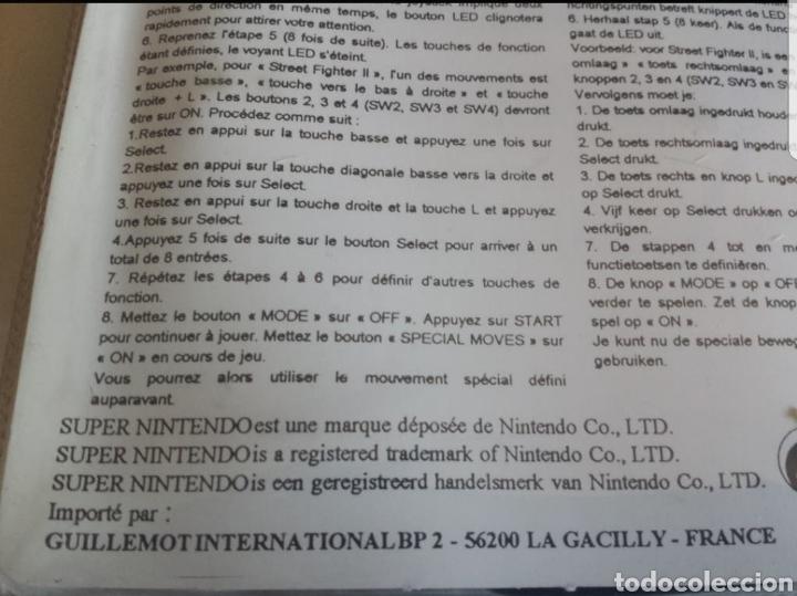Videojuegos y Consolas: Super Nintendo Programador de combos SNES - Foto 3 - 217487773