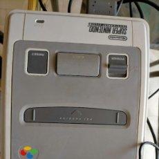 Jeux Vidéo et Consoles: SUPER NINTENDO. CONSOLA + LO QUE SE VE EN LAS FOTOS. Lote 217562407