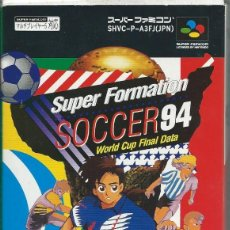 Videogiochi e Consoli: SOCCER-94-WORLD-CUP-DATA-SUPER-FAMICOM-SUP. Lote 217720282