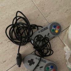 Videojuegos y Consolas: PAREJA DE 2 MANDOSCONSOLA SNES - VER FOTOS .. Lote 217950032