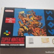 Videojuegos y Consolas: GODS PAL ESPAÑA SNES SUPER NINTENDO SUPERNINTENDO MEGADRIVE MEGA DRIVE SEGA 64 N64 DREAMCAST. Lote 218102346