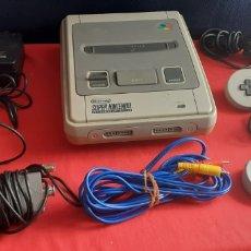 Videojuegos y Consolas: SUPER NINTENDO TAL CUAL COMO SE VE EN FOTOS. Lote 218208661