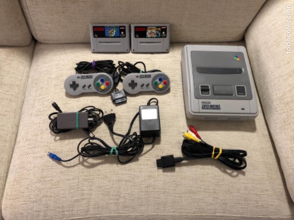 CONSOLA SÚPER NINTENDO NES CON JUEGOS (Juguetes - Videojuegos y Consolas - Nintendo - SuperNintendo)