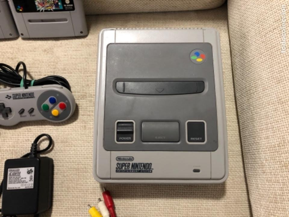 Videojuegos y Consolas: Consola súper Nintendo NES con juegos - Foto 2 - 219248670