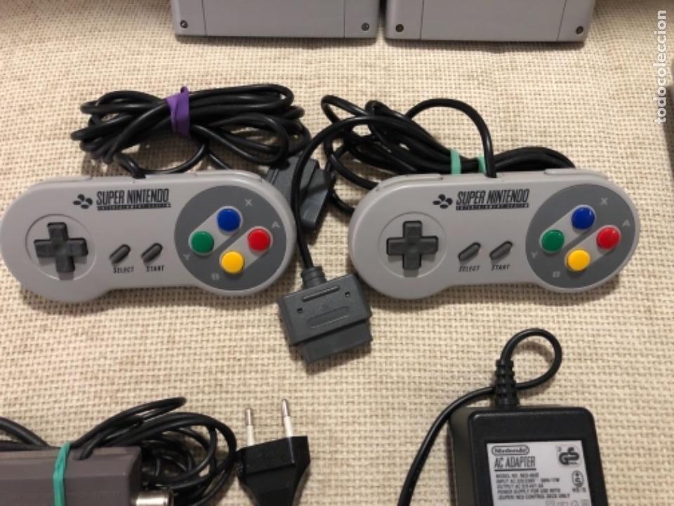 Videojuegos y Consolas: Consola súper Nintendo NES con juegos - Foto 4 - 219248670