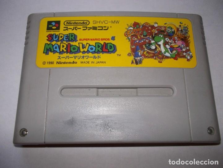 SUPER NINTENDO SUPER MARIO WORLD SUPER FAMICOM SNES SUPER MARIO BROS 4 (Juguetes - Videojuegos y Consolas - Nintendo - SuperNintendo)