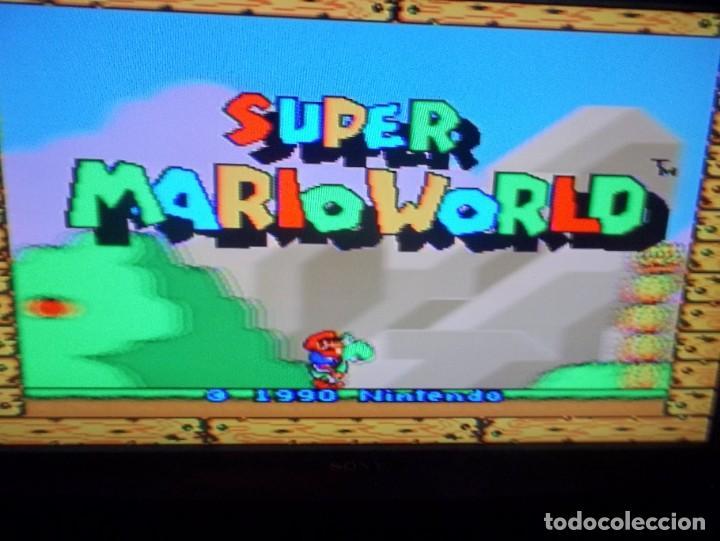 Videojuegos y Consolas: SUPER NINTENDO SUPER MARIO WORLD SUPER FAMICOM SNES SUPER MARIO BROS 4 - Foto 3 - 219506643