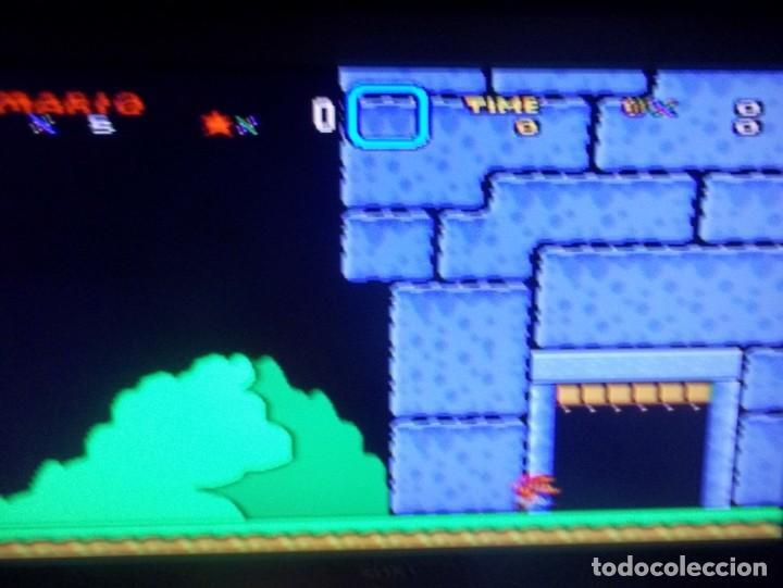 Videojuegos y Consolas: SUPER NINTENDO SUPER MARIO WORLD SUPER FAMICOM SNES SUPER MARIO BROS 4 - Foto 4 - 219506643