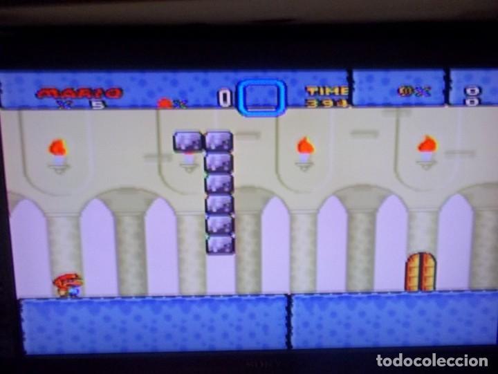 Videojuegos y Consolas: SUPER NINTENDO SUPER MARIO WORLD SUPER FAMICOM SNES SUPER MARIO BROS 4 - Foto 5 - 219506643