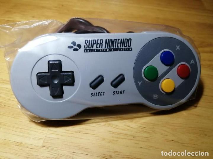 Videojuegos y Consolas: Mando Super Nintendo con caja original - Foto 2 - 219733453