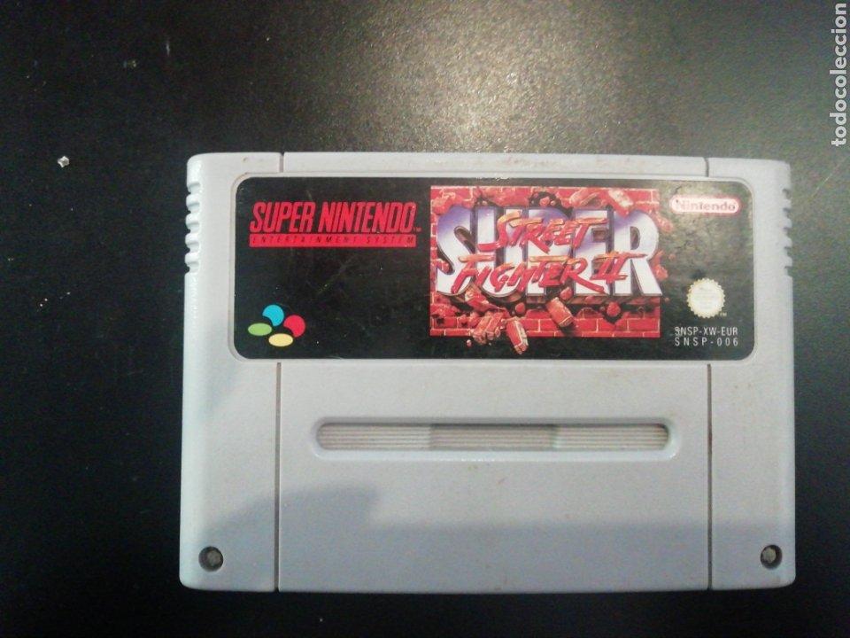 JUEGO PARA SÚPER NINTENDO, SÚPER STREET FIGHTER II (Juguetes - Videojuegos y Consolas - Nintendo - SuperNintendo)