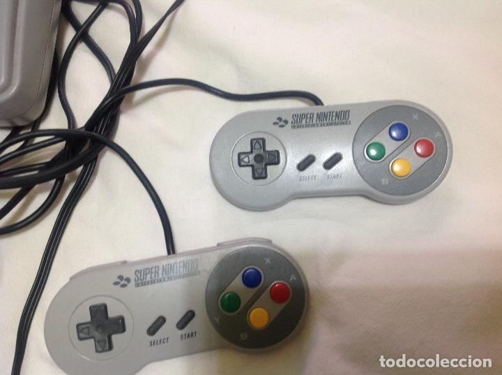 Videojuegos y Consolas: CONSOLA SUPERNINTENDO Y 7 JUEGOS - Foto 4 - 220652543