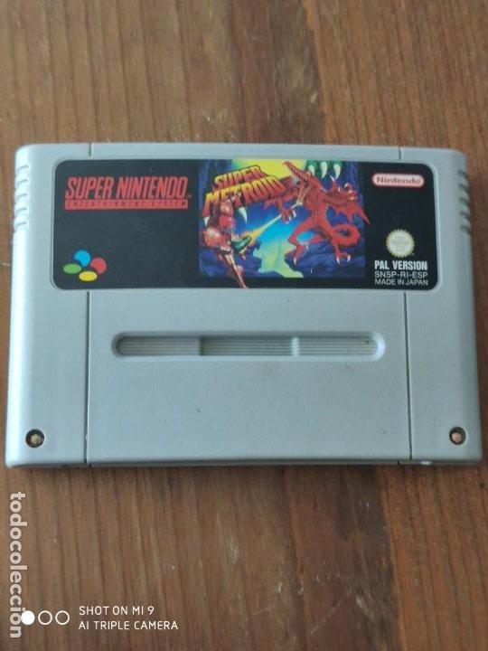 SUPER METROID, SUPER NINTENDO, VERSIÓN PAL EN ESPAÑOL. (Juguetes - Videojuegos y Consolas - Nintendo - SuperNintendo)