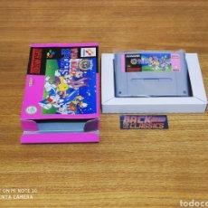 Videojuegos y Consolas: WILD Y WACKY SUPER NINTENDO SNES. Lote 221609857