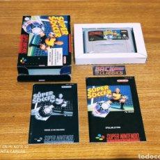 Videojuegos y Consolas: SUPER SOCCER SUPER NINTENDO SNES. Lote 221642850