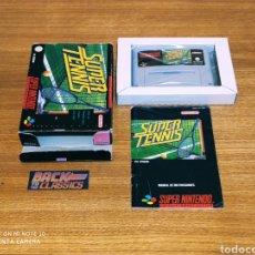 Videojuegos y Consolas: SUPER TENNIS SUPER NINTENDO SNES. Lote 221643851