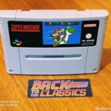 Videojuegos y Consolas: SUPER MARIO WORLD SUPER NINTENDO SNES. Lote 221649642