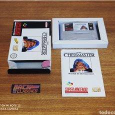 Videojuegos y Consolas: THE CHESSMASTER SUPER NINTENDO SNES. Lote 221661073