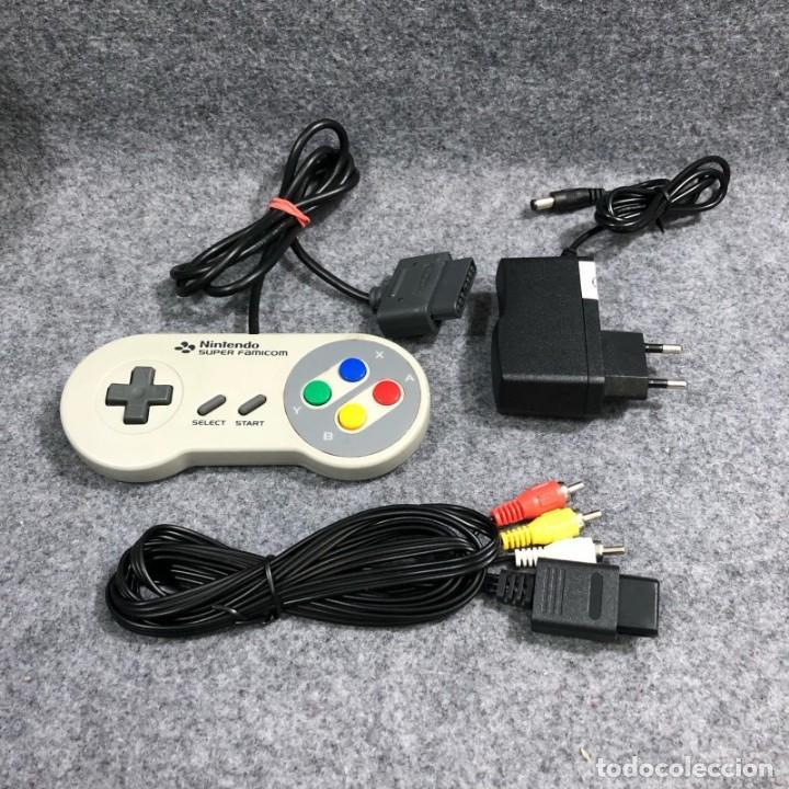 Videojuegos y Consolas: CONSOLA NINTENDO SUPER FAMICOM+MANDO+AV+AC SNES - Foto 2 - 221733841
