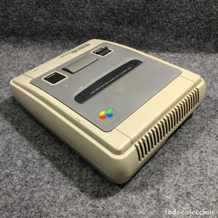 Videojuegos y Consolas: CONSOLA NINTENDO SUPER FAMICOM+MANDO+AV+AC SNES - Foto 5 - 221733841