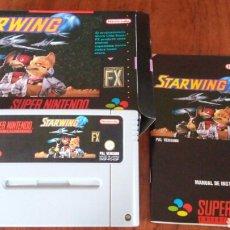 Videojuegos y Consolas: STARWING SUPER NINTENDO COMPLETO PAL ESP. Lote 221895008