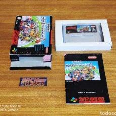 Videojuegos y Consolas: SUPER MARIO KART SUPER NINTENDO SNES. Lote 221948658