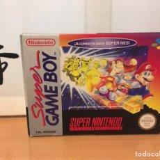 Videojogos e Consolas: ADAPTADOR / CONVERSOR SUPER GAME BOY CARTUCHOS DE GB JUGABLES EN SUPER NINTENDO (SNES) PAL ESP. Lote 222136983