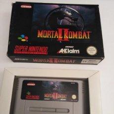 Videojuegos y Consolas: JUEGO SUPERNINTENDO MORTAL KOMBAT II. Lote 222261077