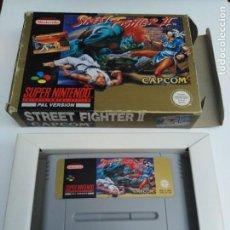 Videojuegos y Consolas: JUEGO SUPERNINTENDO STREET FIGHTER II. Lote 222262033
