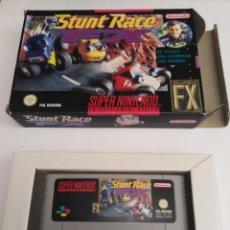 Videojuegos y Consolas: JUEGO SUPERNINTENDO STUNT RACE. Lote 222263915