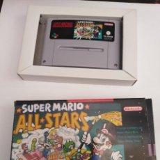 Videojuegos y Consolas: JUEGO SUPERNINTENDO SÚPER MARIO ALL STARS. Lote 222265095