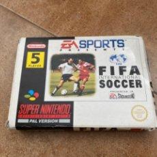 Videojuegos y Consolas: JUEGO SUPER NINTENDO FIFA INTERNACIONAL SOCCER 1994 - EM SPORTS MUY BUENO. Lote 222866178