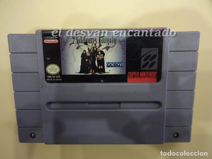 THE ADDAMS FAMILY. SUPER NINTENDO (Juguetes - Videojuegos y Consolas - Nintendo - SuperNintendo)