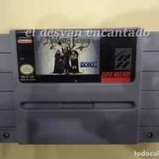 Videojuegos y Consolas: THE ADDAMS FAMILY. SUPER NINTENDO. Lote 223470256