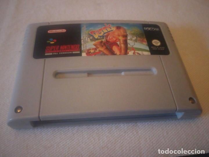 Videojuegos y Consolas: juego dennis pal version 1993,nintendo 1992 made in japan,ORIGINAL - Foto 3 - 223657923