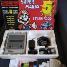 Videojuegos y Consolas: CONSOLA SUPER NINTENDO ~ SUPER MARIO STARS PACK ~ COMPLETA!. Lote 223689113