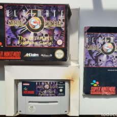 Videojuegos y Consolas: ULTIMATE MORTAL KOMBAT COMPLETO SUPER NINTENDO SNES. Lote 223813407