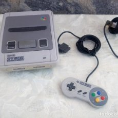 Videojuegos y Consolas: SUPER NINTENDO SUPER NES (PAL) CONTROL DECK.ENTERTAINMENT SYSTEM.1ER MODELO,1992,CON 1 MANDO. Lote 225380760