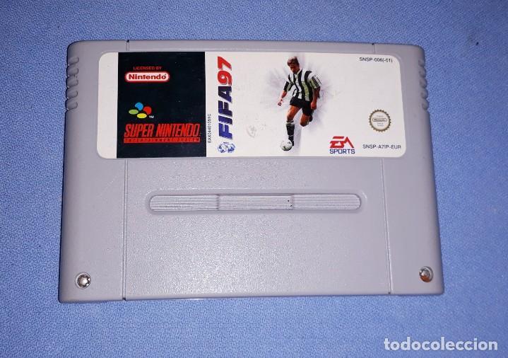 JUEGO FIFA 97 DE SUPER NINTENDO (Juguetes - Videojuegos y Consolas - Nintendo - SuperNintendo)