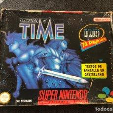 Videojuegos y Consolas: ILLUSION OF TIME CAJA GRANDE. Lote 226772029