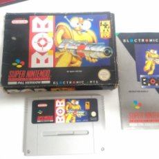 Jeux Vidéo et Consoles: B.O.B. SNES MIRE MIS OTROS JUEGOS NINTENDO SONY SEGA MEGADRIVE DREAMCAST SATURN SNES. Lote 228025960