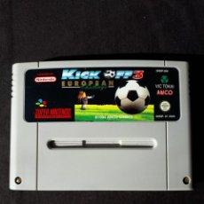 Videojuegos y Consolas: KICK OFF 3 - EUROPEAN CHALLENGE - SUPER NINTENDO - SNES - ANCO - CARTUCHO. Lote 229006893