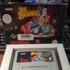 Videojuegos y Consolas: SUPER NINTENDO THE BRAINIES. Lote 259833660
