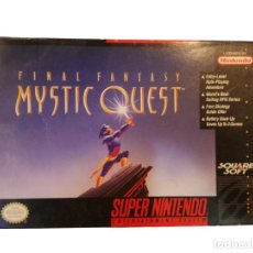 Videojuegos y Consolas: FINAL FANTASY MYSTIC QUEST COMPLETO SNES SUPER NINTENDO USA NTSC. Lote 232813485
