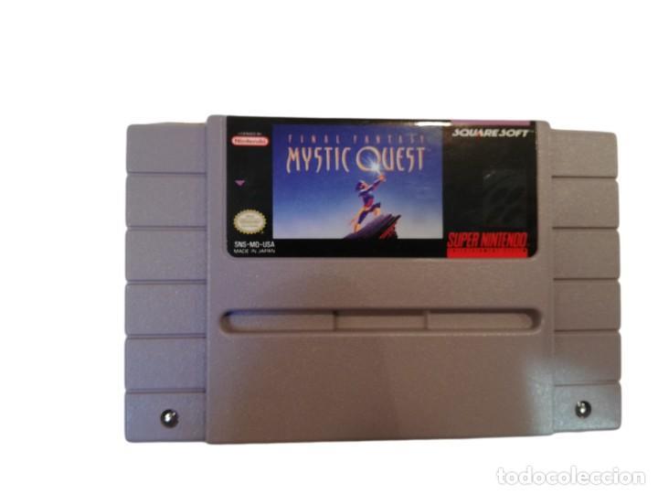 Videojuegos y Consolas: FINAL FANTASY MYSTIC QUEST COMPLETO SNES SUPER NINTENDO USA NTSC - Foto 3 - 232813485