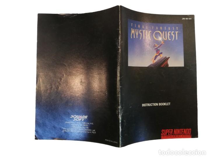 Videojuegos y Consolas: FINAL FANTASY MYSTIC QUEST COMPLETO SNES SUPER NINTENDO USA NTSC - Foto 4 - 232813485