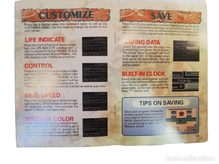 Videojuegos y Consolas: FINAL FANTASY MYSTIC QUEST COMPLETO SNES SUPER NINTENDO USA NTSC - Foto 5 - 232813485