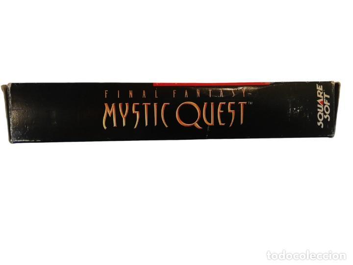 Videojuegos y Consolas: FINAL FANTASY MYSTIC QUEST COMPLETO SNES SUPER NINTENDO USA NTSC - Foto 8 - 232813485