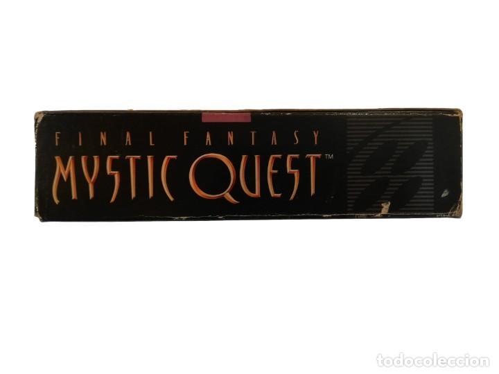 Videojuegos y Consolas: FINAL FANTASY MYSTIC QUEST COMPLETO SNES SUPER NINTENDO USA NTSC - Foto 9 - 232813485